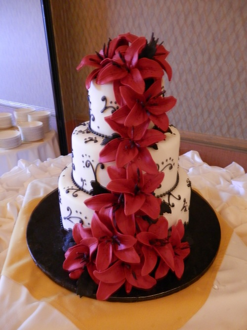 Wedding Cake Created by Donna Joy