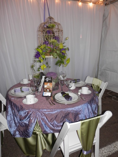 Beautiful Display from Verve Events and Tents