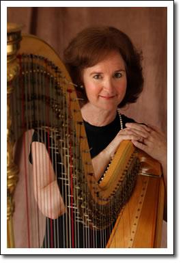 Harpist Adrienne Bridgewater