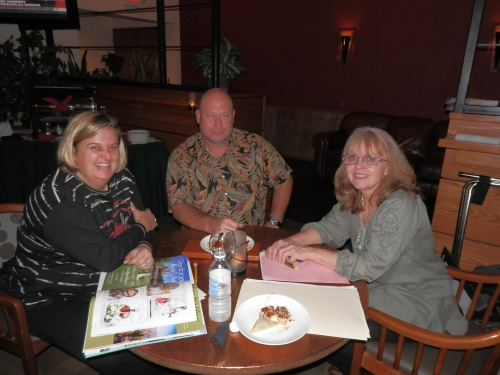 CWLife Photography Owners Connie and Steve White with Donna Joy, Sedona Sweet Arts (right)